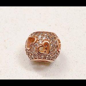Pandora Rose Gold Bracelet Charm